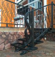 Лестницы металлические - кованые и сварные