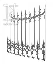 Решетки дутые металлические