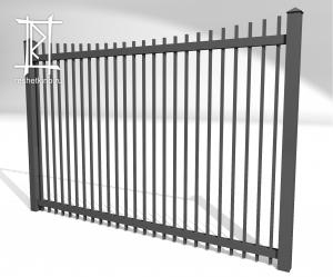 Заборы и ворота металлические № 3