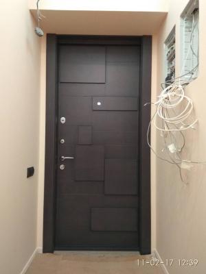 Дизайнерская входная дверь МДФ