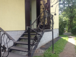 Кованые лестницы №2