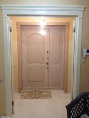 Входная дверь, массив дуба