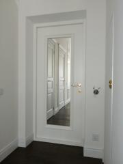 Металлическая входная дверь с зеркалом