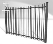 Заборы и ворота металлические № 2
