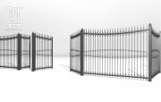 Заборы и ворота металлические № 21